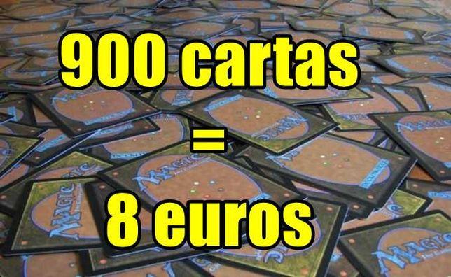 900 Cartas Magic the Gathering MTG
