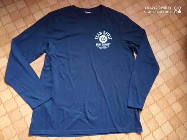 Nowa czarna bluzka XL