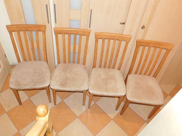 Krzesła 4 sztuki stabilne