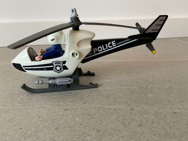 Playmobil helikopter policyjny
