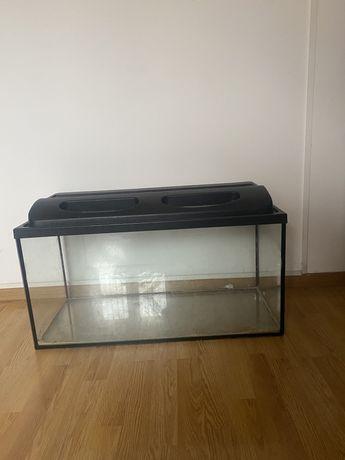 Akwarium duże około 1 m