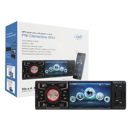 Radio Samochodowe Pni 9545 1Din 4` 50Wx4, Bluetooth FM, SD, USB