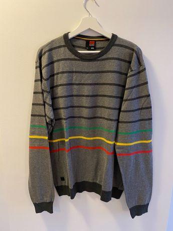 Sweter bawełniany XXL