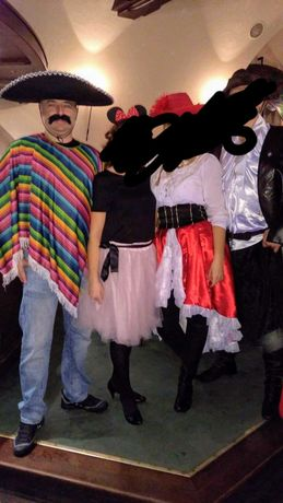 Strój karnawałowy Meksykanina, halloween