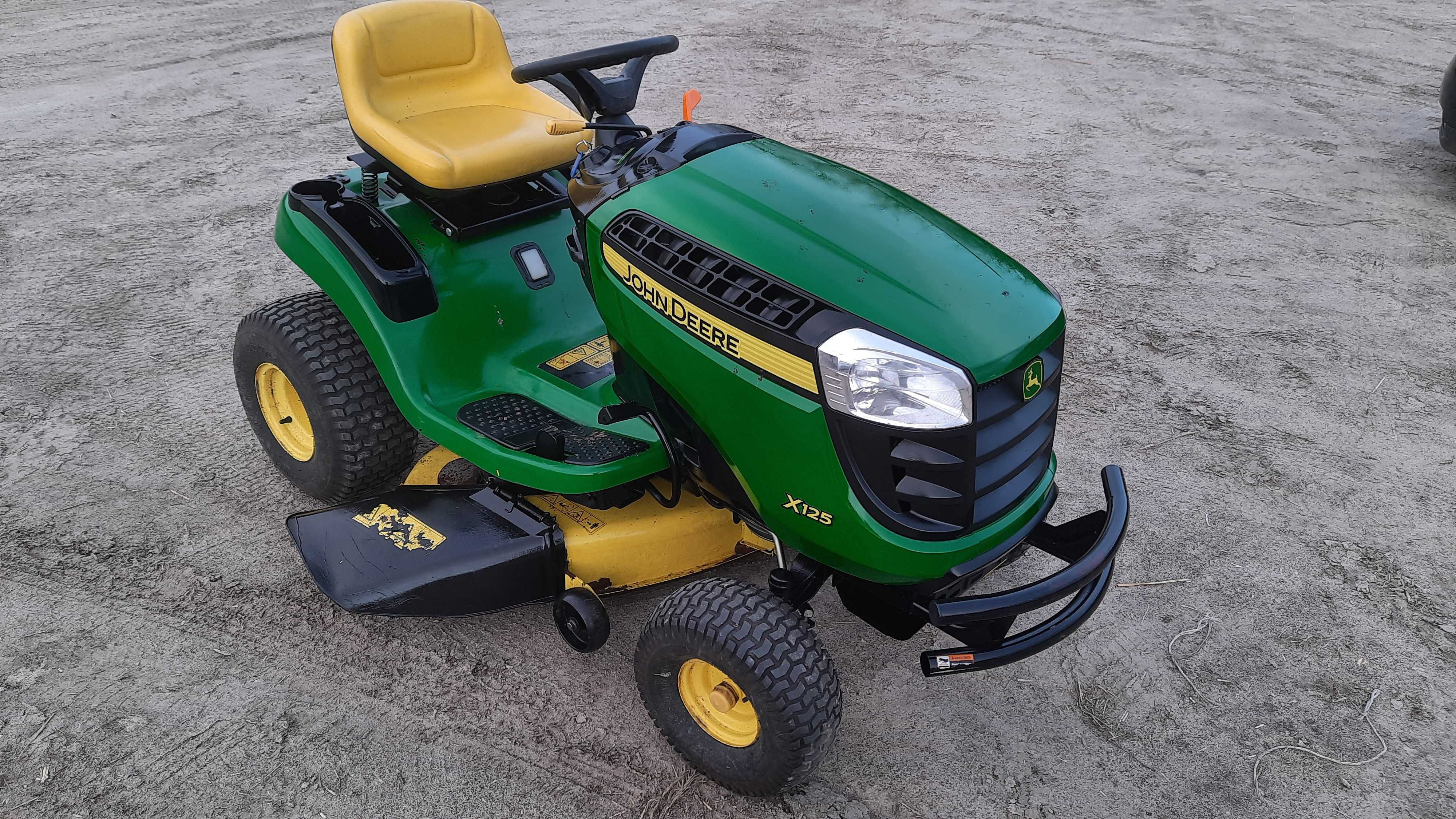 John deere x 125 traktorek kosiarka hydrostat