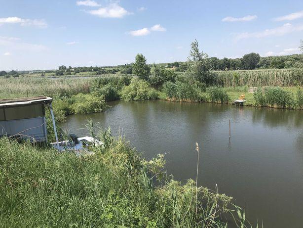 Рыбалка на частном водоеме Харьковская область, с. Новый Мерчик
