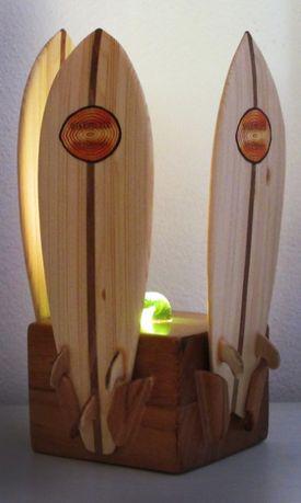 Candeeiro pranchas de Surf