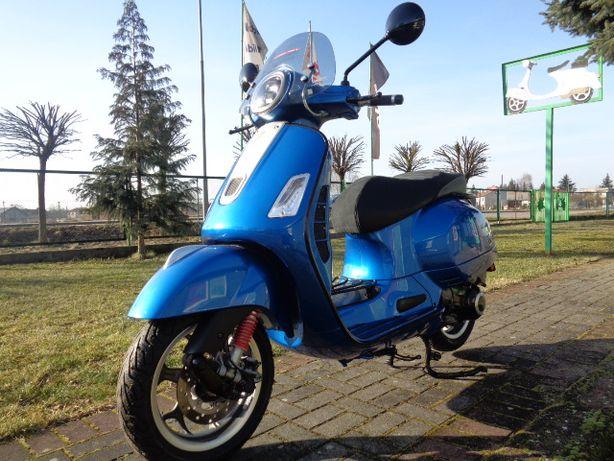 Vespa GTS Super Sport 125/300 Blue Vivace Limited Edition Rizoma
