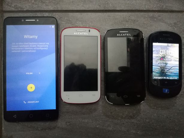 Zestaw  Alcatel Pixi 4 6.0 9001x 6cali! , 2x One Touch 4033X, OT908F