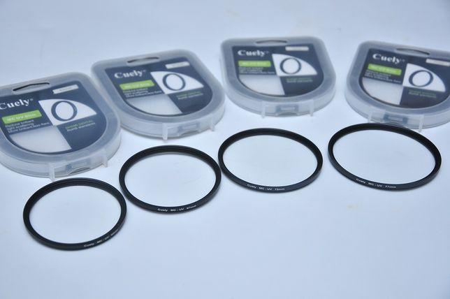 Фильтр защитный Cuely MC-UV SLIM 62/67/72/77 мм мультипросветленный