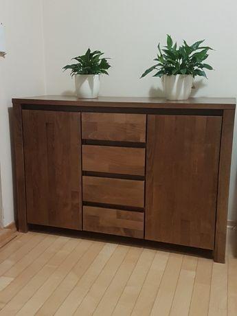 Komplet mebli BEDS z litego drewna do sypialni
