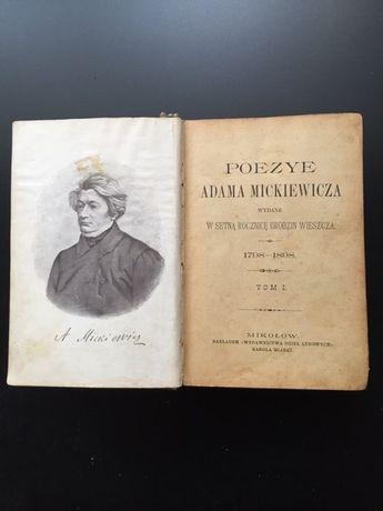 Poezye Adama Mickiewicza 1708 do 1808