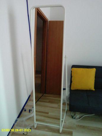 Lustro IKEA Knapper stojące, biały 48 x 160 cm