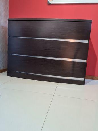 Komoda 110 cm, kolor venge szuflady