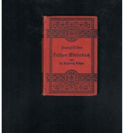 Słownik francusko- niemiecko-francuski