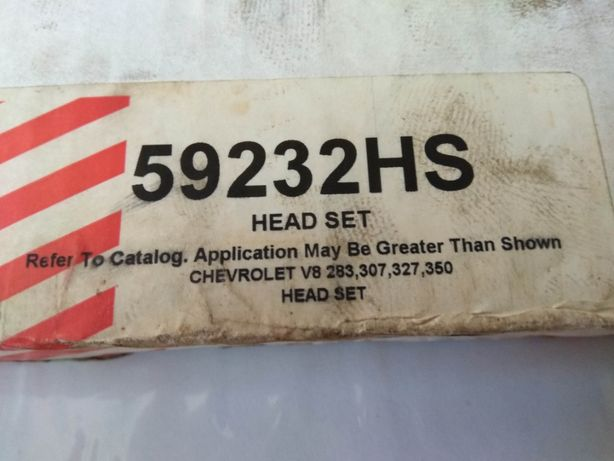 chevrolet v8 ,283, 307, 327, 350 mercruiser uszczelki pod głowice