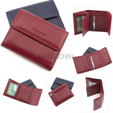 Женский маленький кожаный кошелек клатч портмоне Marco Coverna
