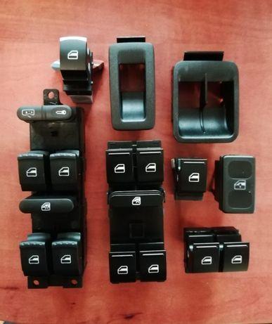 Кнопка стеклоподъемника VW Golf 2,3,4,5, Caddy 3 ,T5, Pass B6,B7, Seat