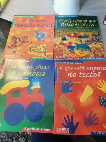 Livros de atividades infantis