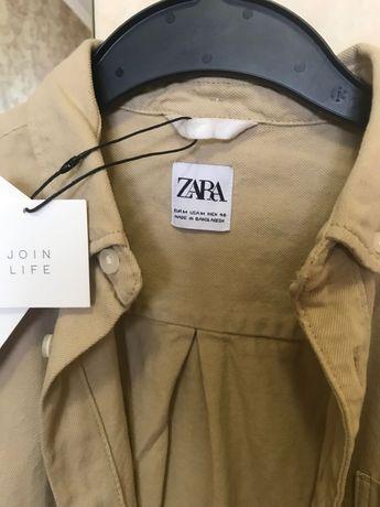 Zara чоловiча джинсова сорочка розмiр M