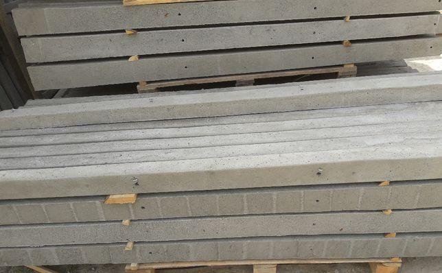 Słupki betonowe do siatki