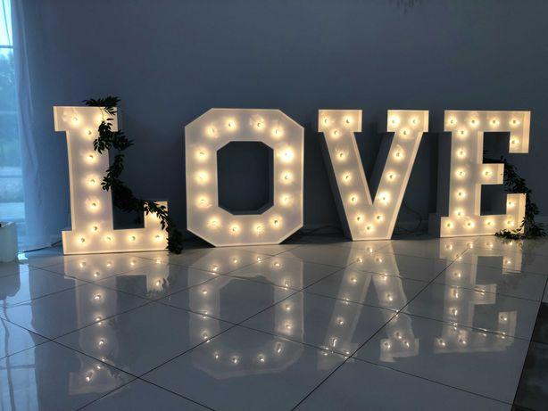 Napis LOVE 120cm biały SPRZEDAM