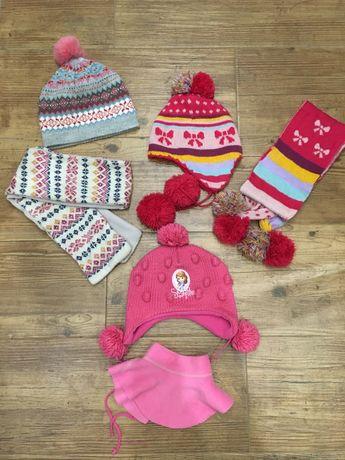 Шапки, шарфы для девочки