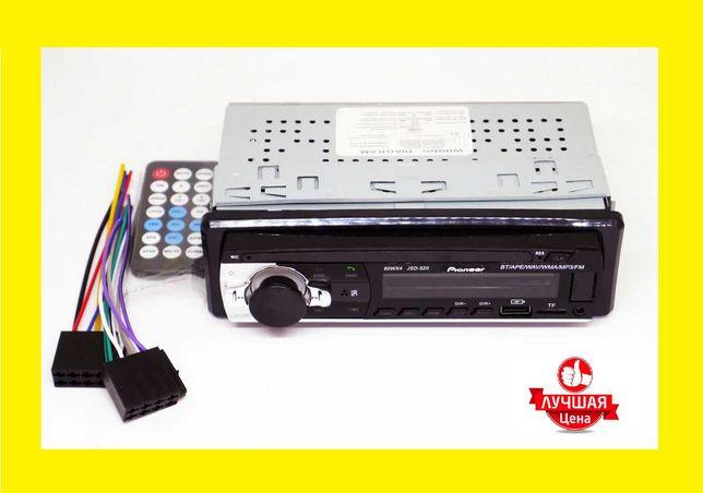 Автомагнитола Pioneer JSD-522 Bluetoth+2xUSB+microSD+AUX 4x60W