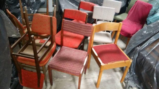 Stare krzesła PRL