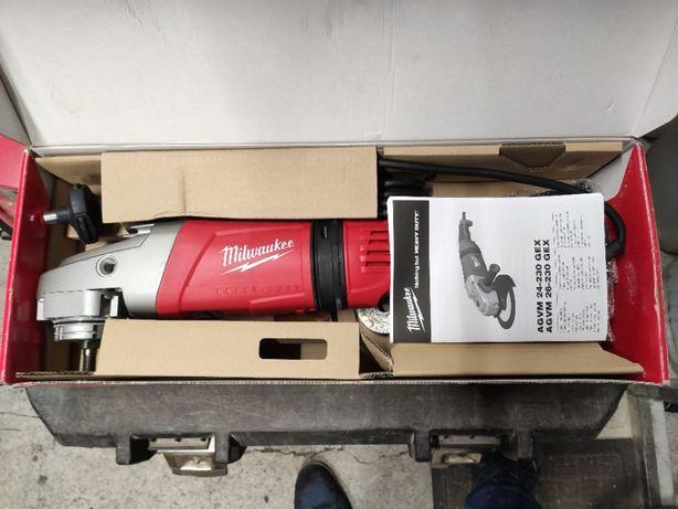 Szlifierka kątowa Milwaukee AGVM 26-230 GEX 2600W