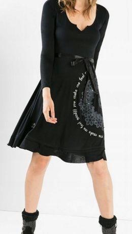 Piękna sukienka DESIGUAL mandala