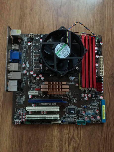Płyta Główna Asus M3n78-em + Adata Extreme Edition 4GB + Amd Phenom X2