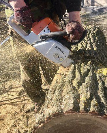 Зрізання,зруб,обрізка дерев.Покіс трави.Чистка ділянок.