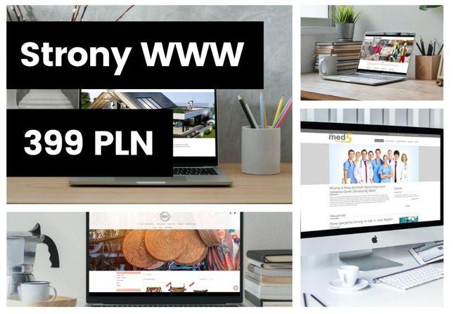 Strona www + Top 10 Google Tworzenie Strony Internetowej Firma Tanio