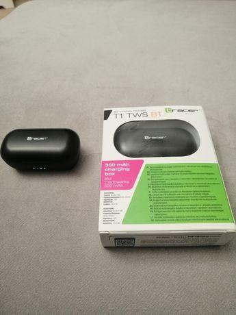 Nowe słuchawki bezprzewodowe TRACER T1 TWS BT gwarancja