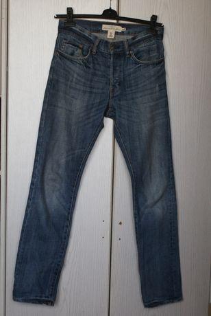 Spodnie jeansowe H&M roz 30 slim fit