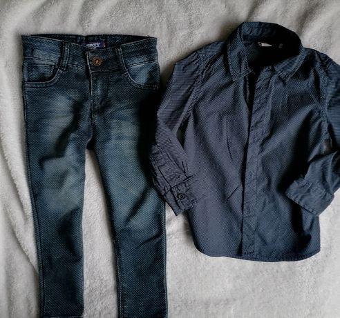 Комплект на мальчика 4 5 года Next рубашка, брюки