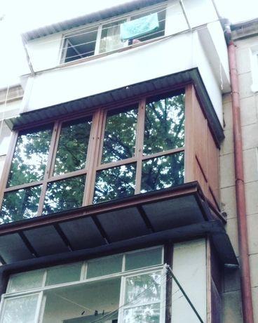 РАСШИРЕНИЕ БАЛКОНА в Одессе французский рюмка вынос сварщики пвх окна