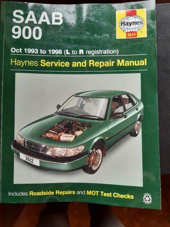 Saab 900 instrukcja naprawy Haynes