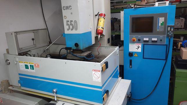 Elektrodrążarka wgłębna, CNC, Aristech cnc 550