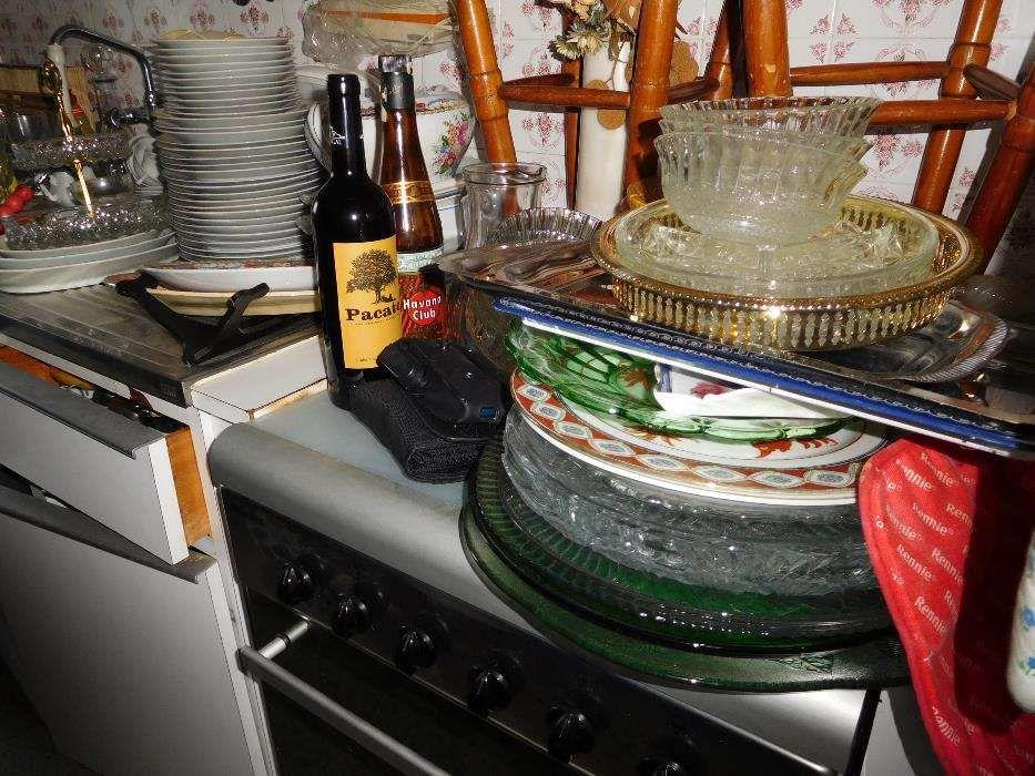 Serviço de mesa Vista Alegre, copos e afins