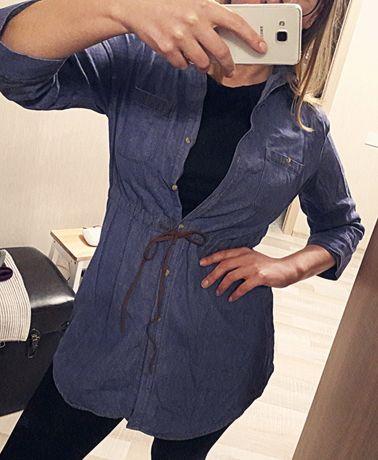 Рубашка джинс. Дешево