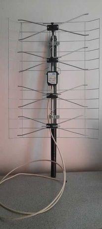 Antena szerokopasmowa DVB-T z symetryzatorem kanałowym 6-60