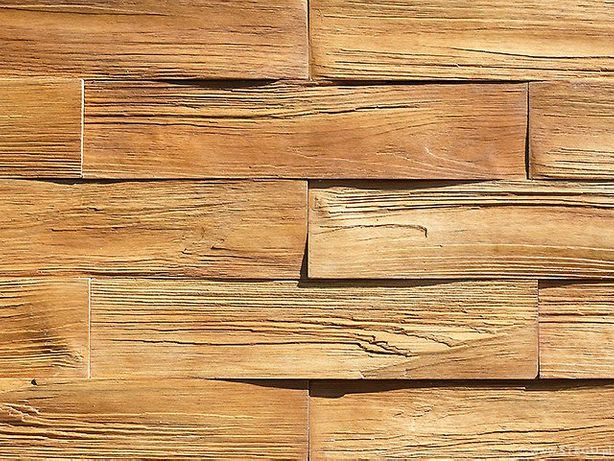 kamień elewacyjny płytki drewnopodobne Stegu timber
