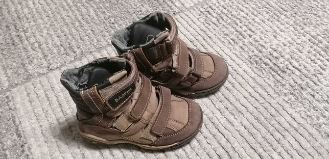 Zimowe buty, kozaki firmy BARTEK, na 3 rzepy, rozmiar 27