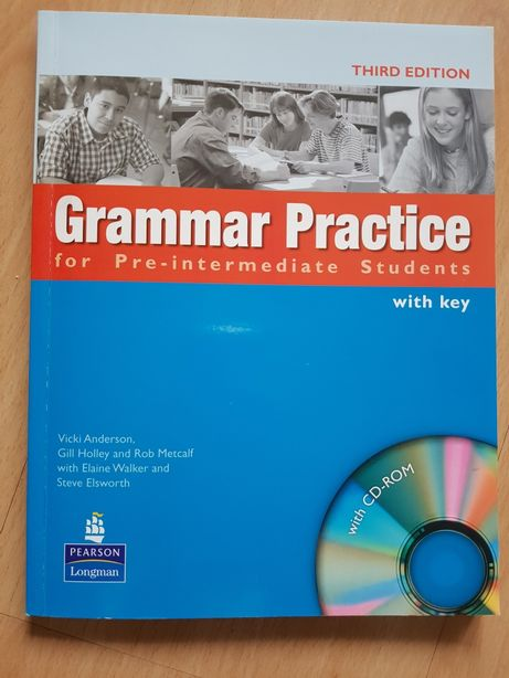 Grammar practice for pre-intermediate students, with key