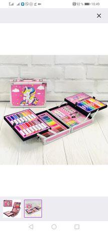 Набор для творчества в чемодане детский набор для рисования НОВЫЙ