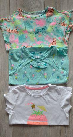 Koszulki T-shirt 110 dziewczynka