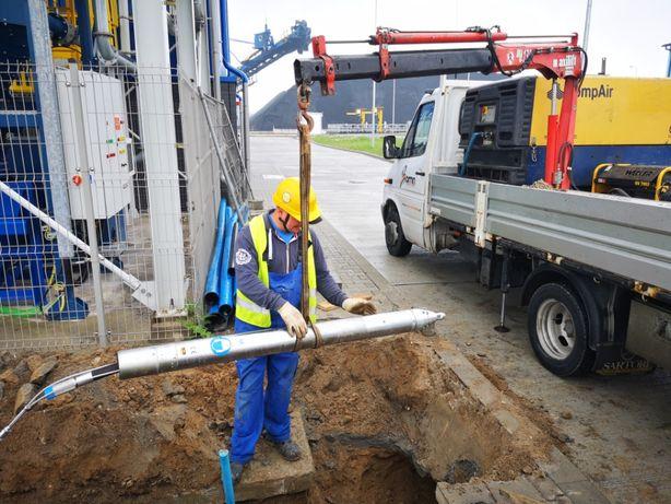 Przeciski przewierty poziome kret kretowanie mikrotuneling pod drogami