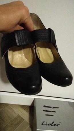 Туфли кожанные 37 р. Lider